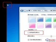 Windows 7 Bug:显示器左上角的白色亮点