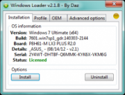 Windows7 Loader 2.1.8 Win7旗舰