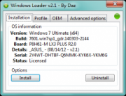 Windows7 Loader 2.1.0 Win7旗舰